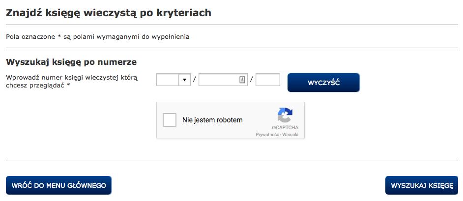 Ekw.gov.pl - przeglądarka